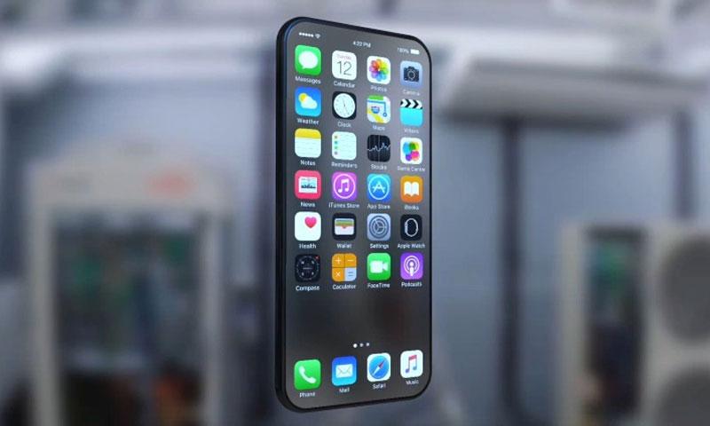 """صورة مسربة لهاتف """"آيفون 8"""" (مواقع تقنية)"""