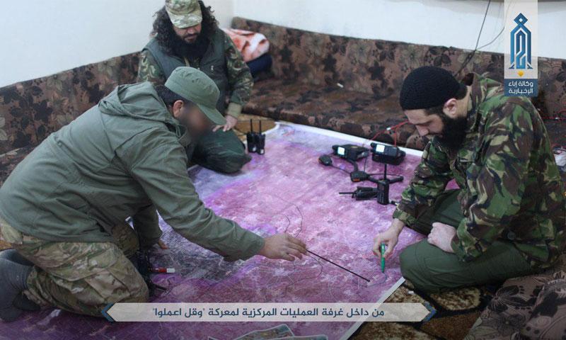 تعبيرية: الجولاني والطحان يركزان على مطار حماة العسكري في خارطة حماة- الجمعة 24 آذار 2017 (وكالة إباء)