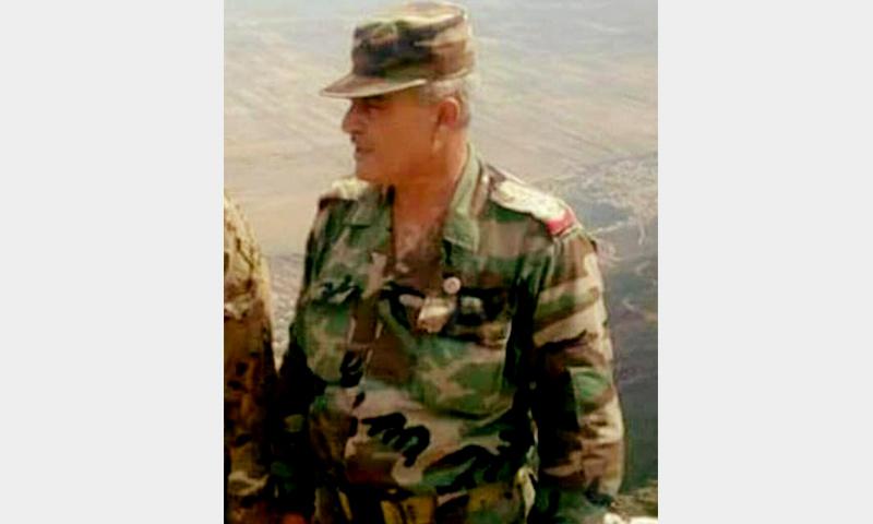 العميد الركن في قوات الأسد، عصام طاهر خضور (فيس بوك)