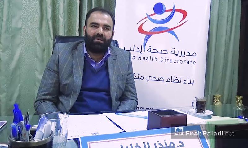 مدير صحة إدلب منذر الخليل - نيسام 2017 (عنب بلدي)