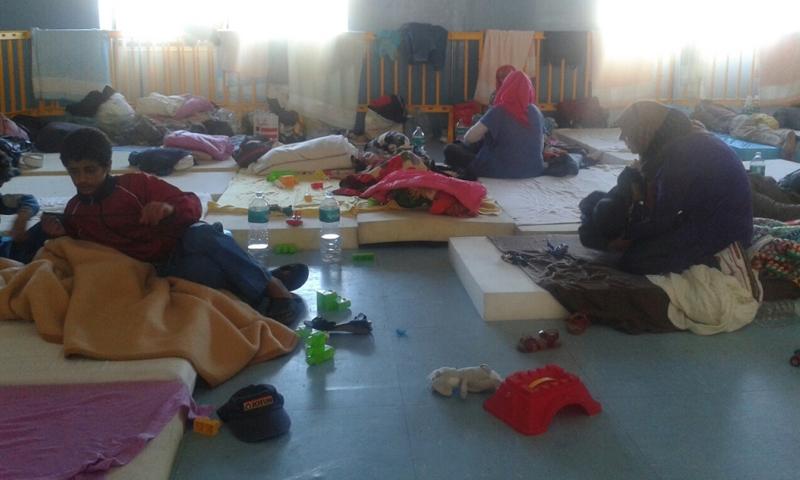 مركز احتجاز اللاجئين في إيطاليا - (انترنت)