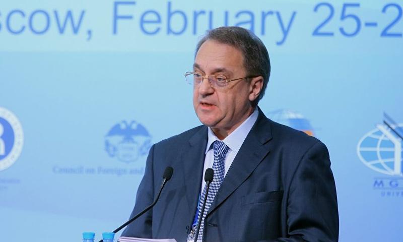 وزير الخارجية الروسي، ميخائيل بوغدانوف (إنترنت)