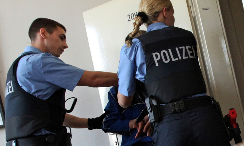تعبيرية: عناصر من الشرطة الألمانية (إنترنت)