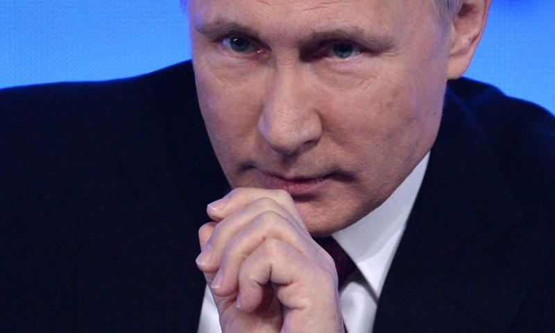 الرئيس الروسي، فلاديمير بوتين (إنترنت)