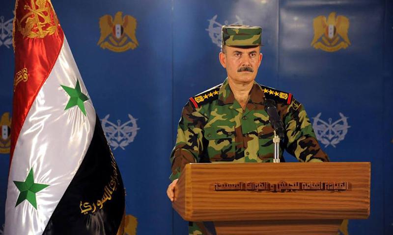 العميد الركن علي ميهوب (وزارة الدفاع)