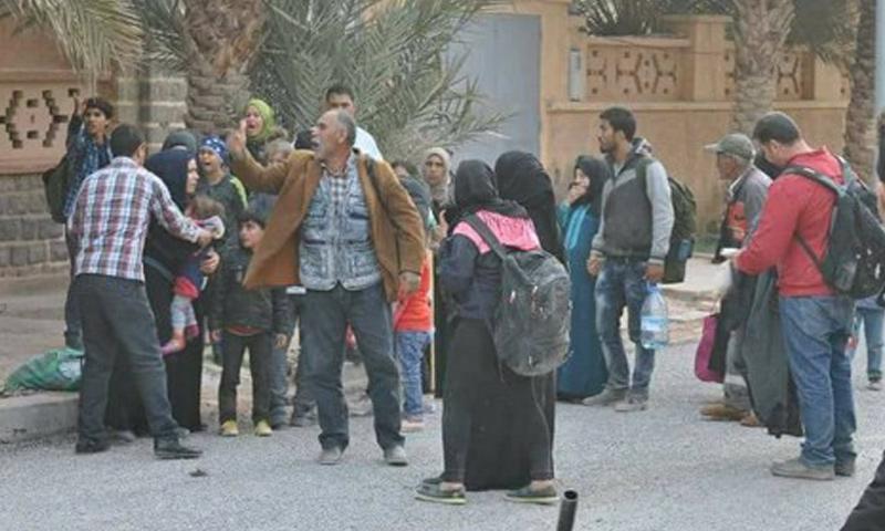 """سوريون في منطقة """"فكيك"""" على الحدود الجزائرية المغربية (هيسبريس)"""