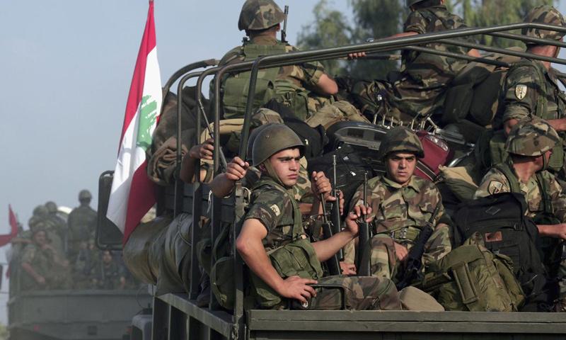 أرشيفية- قوة من الجيش اللبناني (وكالات)