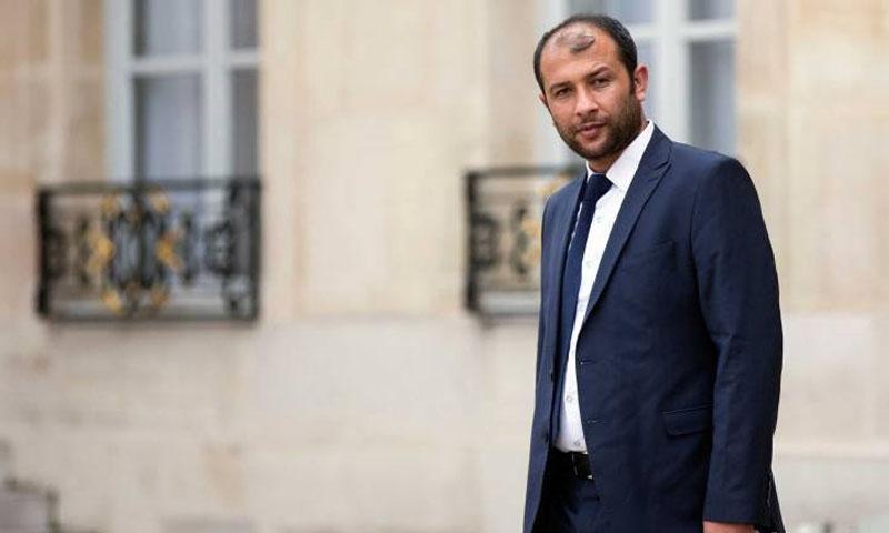 رائد الصالح، مدير مؤسسة الدفاع المدني في سوريا (تايم)