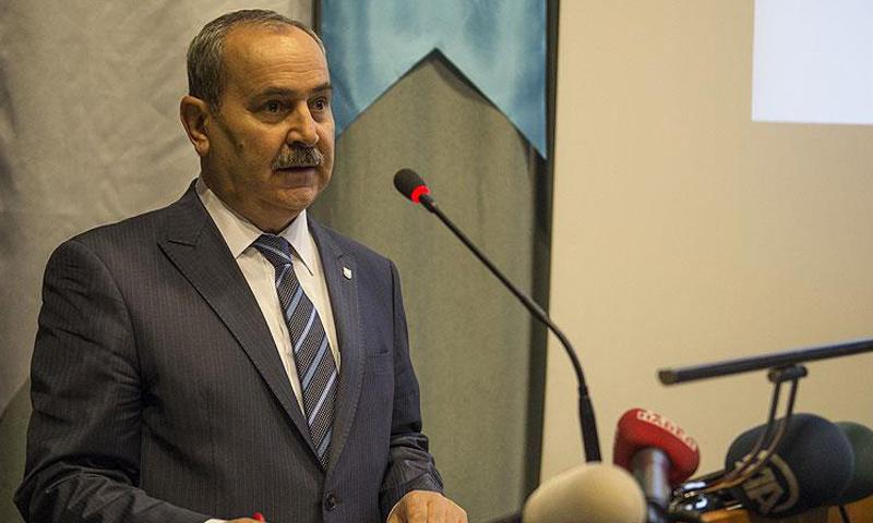 رئيس المجلس التركماني السوري أمين بوز أوغلان (الأناضول)