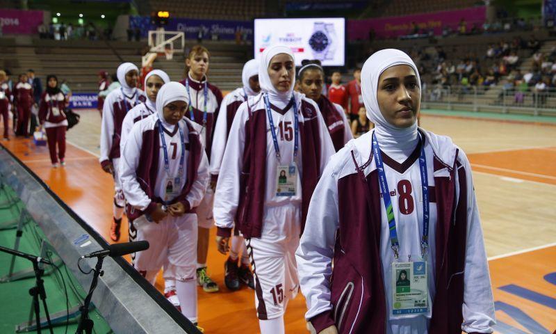 المنتخب القطري لكرة السلة - (انترنت)