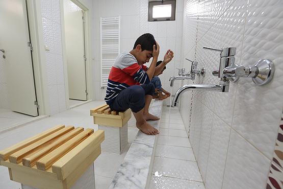 """""""مركز حياة الأطفال""""، قرية مخصصة للأيتام السوريين في منطقة ريحانية التابعة لولاية هاتاي جنوب تركيا- 10 أيار (الأناضول)"""