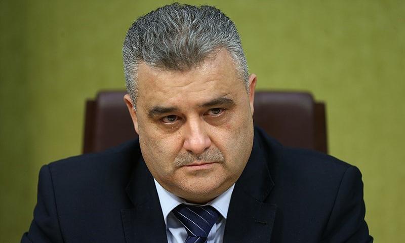 وزير الاعلام السوري رامز ترجمان (وكالة تسنيم)