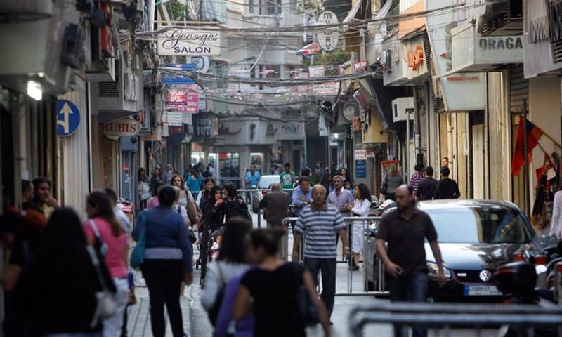 منطقة برج حمود في العاصمة اللبنانية بيروت - (انترنت)