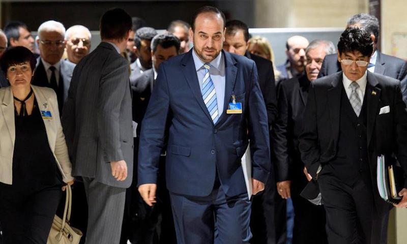 وفد المعارضة السورية إلى جنيف- 17 أيار 2017 (وكالات)
