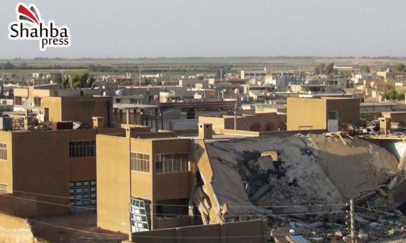 أرشيفية- مدينة مسكنة في ريف حلب الشرقي (شهبا برس)