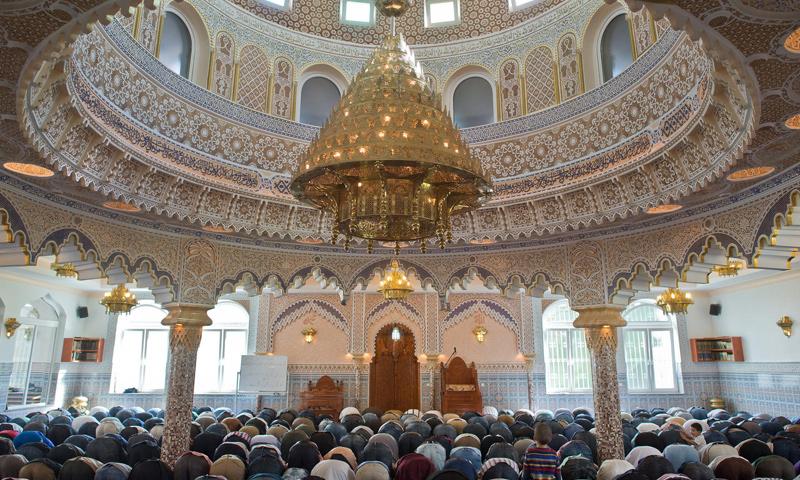 مسجد في ألمانيا (International Business Times)