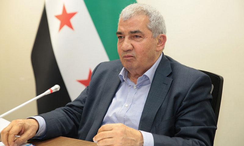 رئيس الائتلاف السوري المعارض رياض سيف (الائتلاف)
