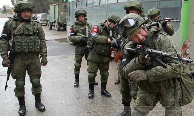 مقاتلون روس وشيشان في سوريا- 2016 (فورن بوليسي)