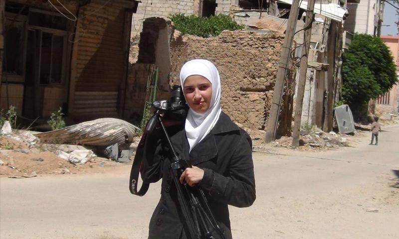 الصحفية سمارة قوتلي (إنترنت)