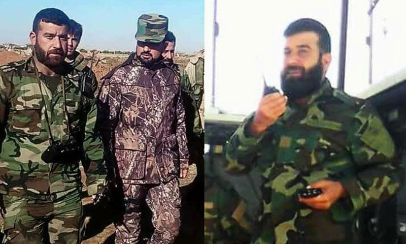 """قائد مجموعات اقتحام """"قوات النمر"""" في ريف حماة (صفحات موالية للنظام السوري)"""