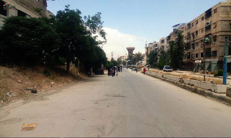 معبر ببيلا- سيدي مقداد جنوب دمشق (تجمع ربيع ثورة)