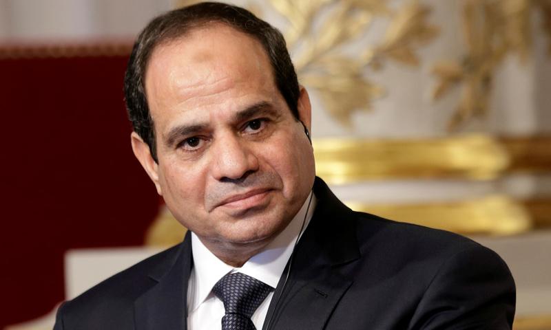 الرئيس المصري عبد الفتاح السيسي - (رويترز)