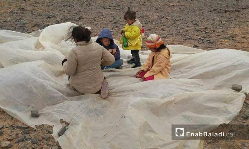 أطفال سوريون عالقون بين المغرب والجزائر - أيار 2017 (عنب بلدي)