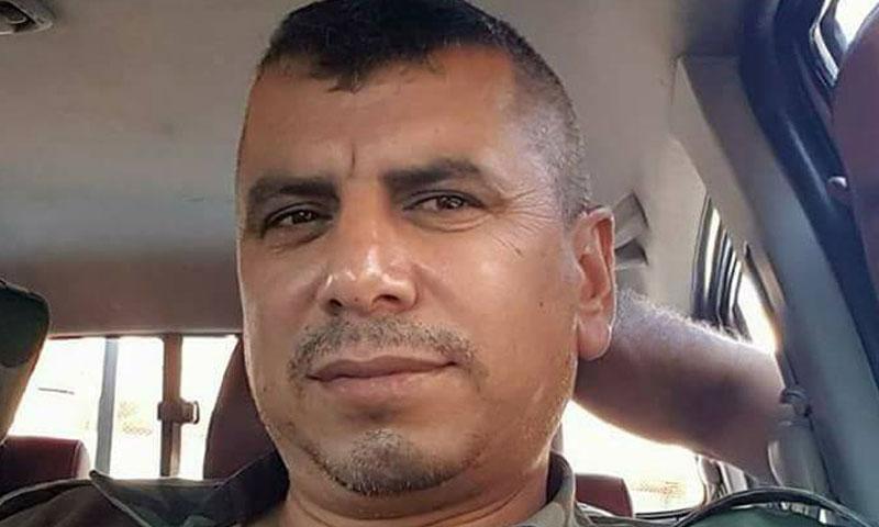 """المقدم في """"الفرقة الرابعة"""" أحمد تاجو (فيس بوك)"""