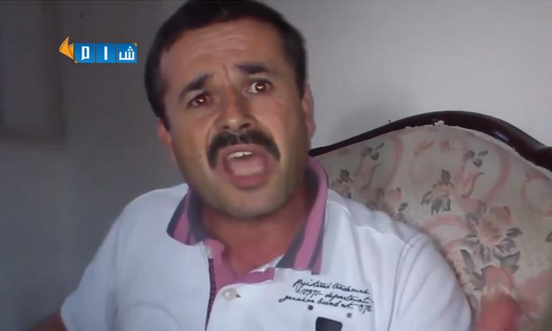 """القيادي في """"الجيش الحر"""" نضال حاج علي (شبكة شام)"""