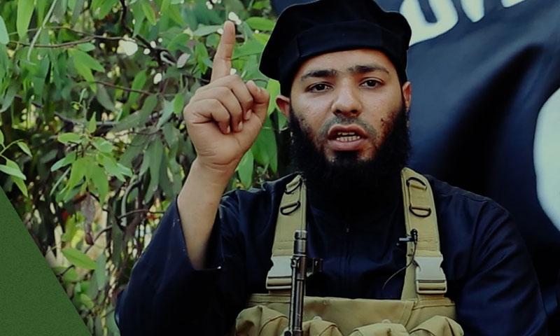 """أبو محمد المقدسي زعيم """"جيش خالد بن الوليد"""" (إنترنت)"""