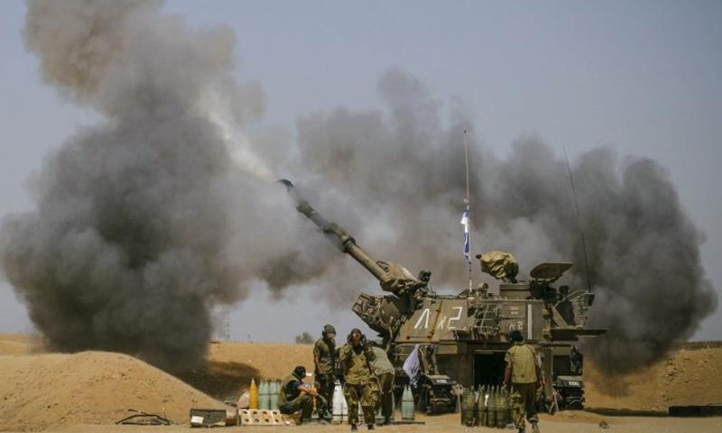 أرشيفية- مدفعية إسرائيلية