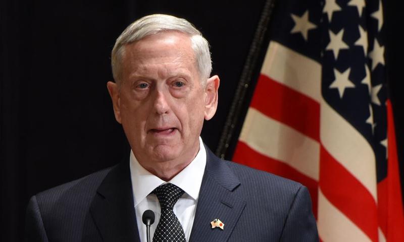 وزير الدفاع الأمريكي، جيمس ماتيس (AFP)