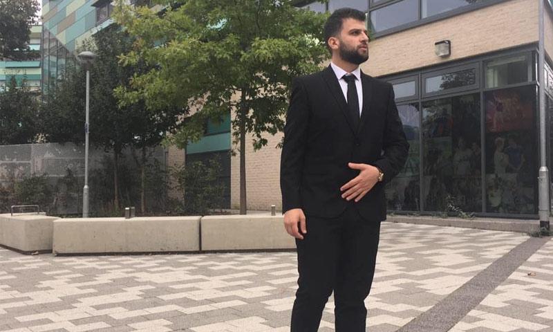 ضحية حريق برج لندن، السوري محمد الحاج علي من درعا (فيس بوك)