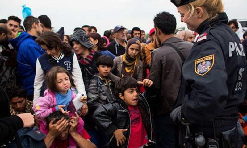 لاجئون في بلجيكا - (انترنت)