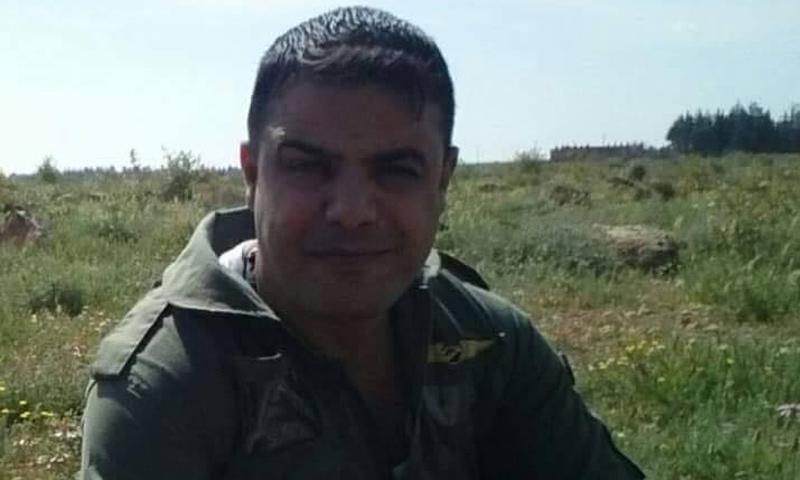 الطيار علي فهد (صفحات موالية للنظام السوري)