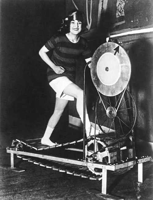 الآلات الرياضية القديمة (PİNTEREST)