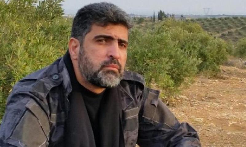 رئيس المكتب السياسي في جيش اليرموك بشار الزعبي - (انترنت)
