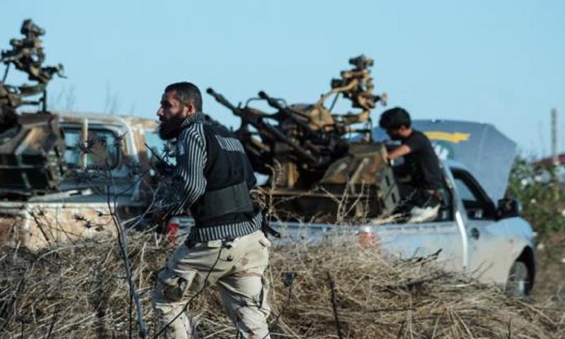 عناصر من الجيش الحر في ريف درعا الغربي - (انترنت)