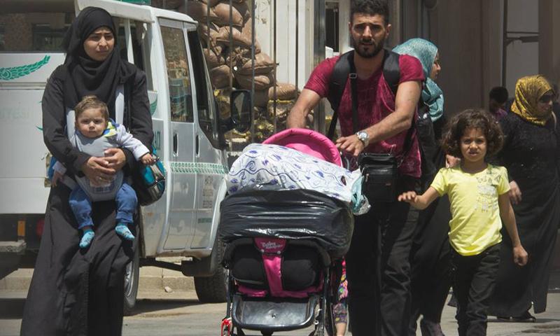 عائلة تغادر تركيا لقضاء العيد في سوريا- 2 حزيران 2017 (باب الهوى)