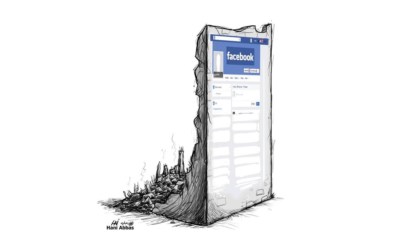 كاريكاتير للفنان هاني عباس
