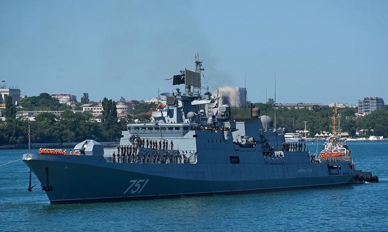 طراد الأميرال إيسون الصاروخي - (روسيا اليوم)