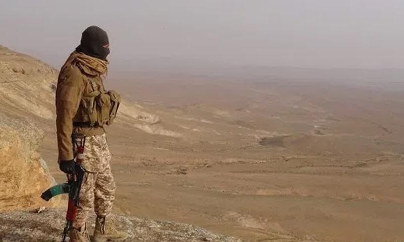 مقاتل من الجيش الحر في منطقة القلمون الشرقي - (انترنت)