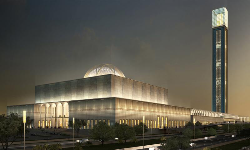 مسجد الجزائر الأعظم - (انترنت)