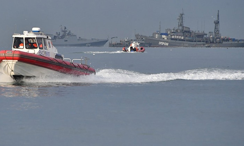 سفن حربية روسية قبالة السواحل السورية - (انترنت)