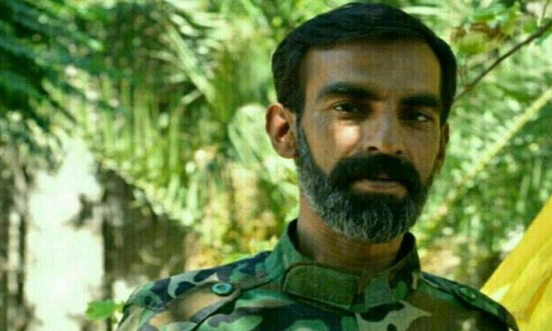 قائد ميليشيا فاطميون علي الجعفري - (مواقع إيرانية)
