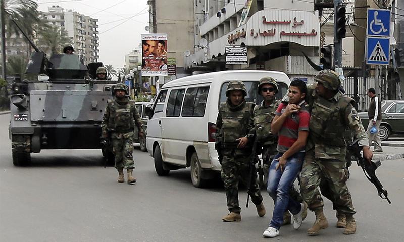 الأمن البناني يعتقل شخصًا في البقاع (إنترنت)