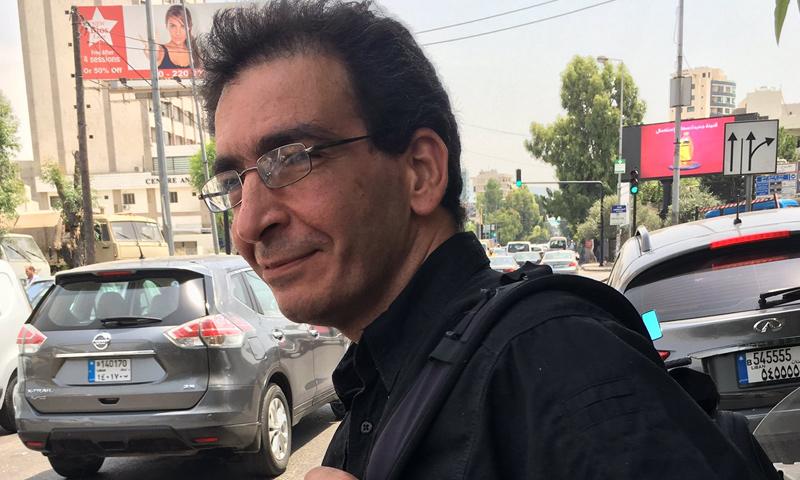 الصحفي اللبناني فداء عيتاني (فيس بوك)