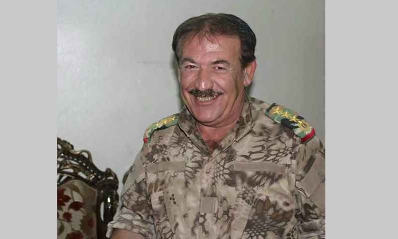 """العميد الركن وهيب صقر الملقب بـ """"صقر حلب"""" (فيس بوك)"""