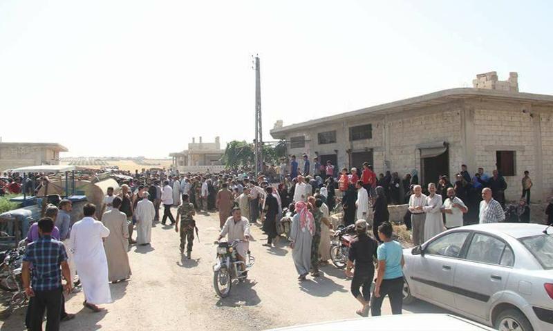 الأهالي شمال حماة - 18 تموز 2017 (صفحات موالية للنظام السوري)