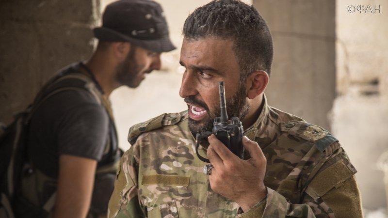 قيادي في قوات الأسد في حي جوبر - 11 تموز 2017 (riafan.ru)